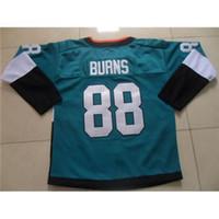 Wholesale 2015 Sharks Stadium Series Ice Hockey Jerseys Teal Brent Burns New Jersey Highest Quality Discount Hockey Uniforms Mens Premier Jerseys