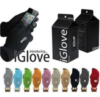 Wholesale 300cs colors retail bag Multi purpose Unisex iGlove Capacitive Screen Gloves For iPhone S iphone HTC ipad iGloves Gloves D540