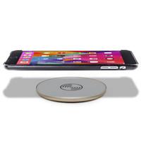 aluminium pads - Sunshar Best Quality Cell Phones Aluminium Qi Wireless Charger Wireless Charging Pad for ipad iphone samsung