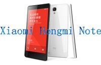 Wholesale Xiaomi Hongmi Note inch G FDD LTE Mobile Phone MP Camera Octa Core MTK6592 Android IPS GB RAM GB ROM Dual SIM Card