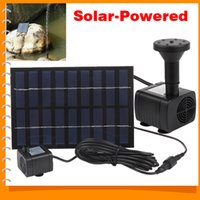 Wholesale Easy to Use Mini Solar Powered Fountain Water Pump Solar Decorative Fountain for Garden Plants Pond Pool Rockery Watering Kit