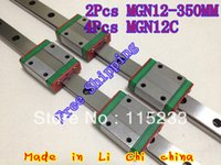 Wholesale mm square linear guide MGN12 mm with linear blocks MGN12C