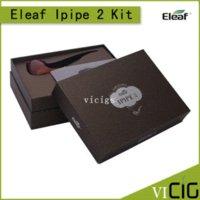 Cheap Authentic iSmoka Eleaf iPipe Kit iSmoka Eleaf iPipe 2 E Cigarette ePipe Mod Eleaf iPipe II with 18350 battery