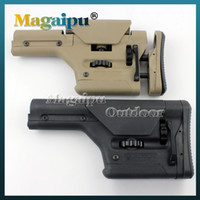 airsoft gun rifle - PRS Precision Rifle Stock Butt Stock Gun Stock for AEG GBB Airsoft AR15 M4 M16