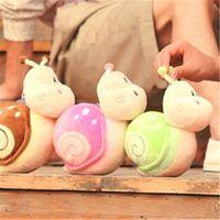 al por mayor muñecos de boda de la orden-La orden de caracol pequeña muñeca juguetes boda peluche $18no seguimiento