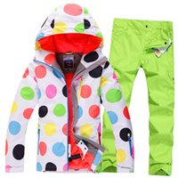 Wholesale new singles GSOUSNOW skiwear suit skiwear board thickened windproof warm water