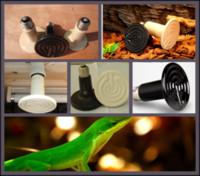 Cheap 100Pcs lot 110v   220v 250W Ceramic Emitter Heated Pet Appliances Reptile Heat Lamp Light P405