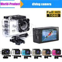Wholesale Camera Waterproof D001 Inch LCD Screen SJ4000 style P real MP Full HD HDMI Camcorders SJcam Helmet Sport DV M Action Camera