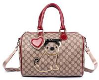 Wholesale 2015 New fashionable women s single shoulder shipping travel bag Boston handbags for women TB165