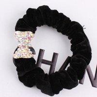 alexandrite diamond rings - Xayakids Hairpin Fine diamond ring alloy Korean hair velvet cloth ring fashion headwear accessories variety Baby Headband