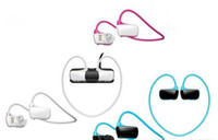 Wholesale W273 Sports Mp3 player headset GB Wireless Sweat band Walkman Running earphone Mp3 player headphone water proof
