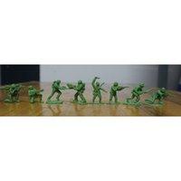 Wholesale 200pcs CM Mini Plastic Soldier Toys Green Army Men Toy Soldiers Figures quot Poses Sent At Random quot Future Soldiers