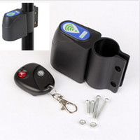 Wholesale Bicycle Lock Bicycle Cycling Security Wireless Remote Control Vibration Alarm Anti theft Bicycle Accessories