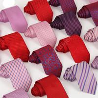 Wholesale Size cm cm cm New Pure Colors Slim striped tie Brand designer fashion Ties for men cravat neckties TIES