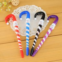 Wholesale 2015 Sex Products Cell Phones Parking Christmas Snowman Cartoon Ballpoint Pen Cute Umbrella Advertising Gift Stationery Student Supply Stall
