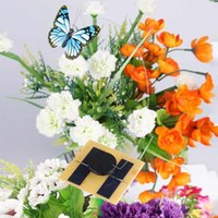 Wholesale Fashion New Solar Powered Dancing Flying Butterfly For Home Garden Yard Decoration