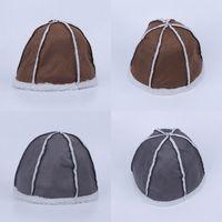 Wholesale Korean Style Unisex Beanie Skull Caps Stylish Men Women Soft Winter Warm Imitation Wool Hats EQI