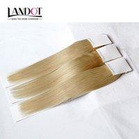 Cheap Bleach Blonde Russian Virgin Hair Straight Color 613 Grade 8A Human Hair Weave Bundles Remy Hair Extensions 3 4Pcs Lot 12-30Inch Double Weft
