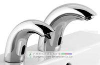 Wholesale deck mounted faucet shape soap dispenser matched sensor faucet germ free workshop the latest hands sanitizer