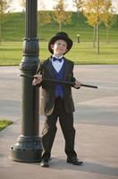 Wholesale Boy s Formal Wear Kid Boy Suits Custom Made Boys Wedding Events Suit Boy s Attire Groom Tuxedo Jacket Pants Bow Vest