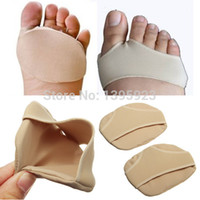 Wholesale 1Pair Half a yard cushion forefoot pad invisible protective mats Foot Care Tools