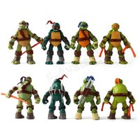 Wholesale High Qaulity HOT cm Cartoon TMNT Teenage Mutant Ninja Turtles PVC Action Figure Toys Dolls