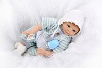 big pacifier - Cute Baby Reborn Dolls Princess Girl Boy Accompany Toys Silicone Dolls Christmas Birthday Gifts With Pacifier and feeding bottle