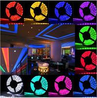 led light roll - Hot Sale DC V Led Strips Lights RGB Waterproof IP65 Leds SMD Meter Roll Best For Christmas Led Lights