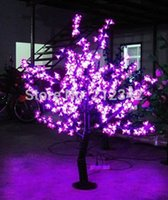 artificial indoor tree - LED Cherry Blossom Tree Light LED Artificial Christmas Light m Height IP65 Pink Indoor or Outdoor Tree LED Landscape Lighting