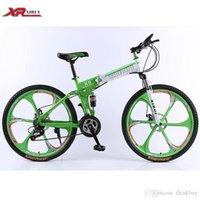 Wholesale Folding bicycles speed Mountain Bike inch magnesium alloy wheels xirui X6 road bike Outdoor sports for men women kids