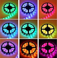 Holiday SMD 3528 Yes RGB 3528 SMD LED Strip Light + Remote Control 24key Free by China Post