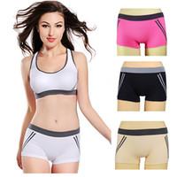 Wholesale 2014 Fashion Seamless Fitness Elastic Running Yoga Clothing And Casual Sportswear Underwear Women Gym Shorts