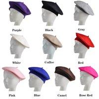 Wholesale Fashion Women Felt French Beret Caps Felt Pillbox Hat Amazing