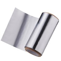 aluminium foil rolls - New cm cm Nail Wraps Aluminium Foil Roll For Nail Art Soak Off Gel Remover Nail Wraps Tool Protect Fingers