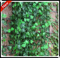 artificial ivy - 10pc cm pc factory decorative wedding Chinese ivy Vine Home Decor Silk Artificial Green Plant Garden Rattan Party