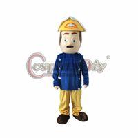adult fireman - Fireman Mascot Costume Adult Halloween Cartoon Mascot Costume Custom Made D0227