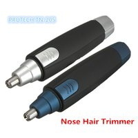 Wholesale Washable Fashion Pritech TN Electric nose Hair Trimmer Nasal Wool Implement Nose Hair Cut for Men and Women Portabletools