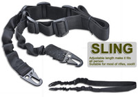 adjustable bungee - Adjustable Outdoor AR15 M4 Tactical Two Point Bungee Sling for Rifle Airsoft