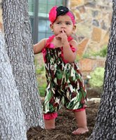 baby boy knicker - Infant Rompers Newborn Baby Bubble Knicker In Camo And Hot Pink Strips Baby Clothing