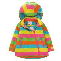 anorak jacket sale - 2015 Hot Sale Autumn Winter Children Jackets Cross Stripe Pacthwork Hoodie Coat For Kids Thicken Anorak Outwear For Children CR106