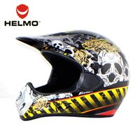 Wholesale HELMO ABS Material Motocross Helmet Casque Moto Motocicleta Moto Cross Helmet Factory Direct Sale Safety Helmet CR