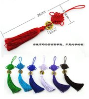 Wholesale Chinese Handmade Classic Knot Handbag Strap Charm With Coin