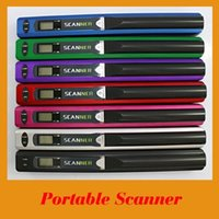 Wholesale Mini handy Cordless wireless HAND HELD scaner Handyscan Portable Scanner