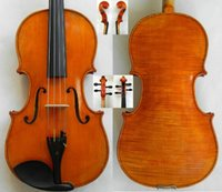 Cheap Wholesale-Rare Master 16.5'' Viola!European Wood 1-P Flame Back!Master's Own Work
