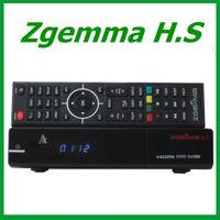 fta - 5pcs Original ZGEMMA H S DVB S2 Tuner Dual Core FTA Satellite Receiver Enigma Linux support TF card