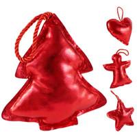 acrylic heart ornaments - Creative Christmas Tree Ornament Decoration Christmas Cute Hanging Pendant Star Tree Heart Angel Decoration party decoration