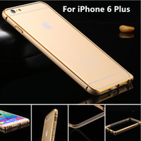 aluminum frame - Special Offer Ultrathin Luxury Aluminum Metal Frame Cellphone Case For Apple iPhone iPhone Plus S S