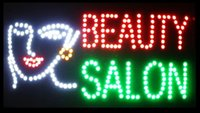 animated beauty - 2015 Super Bright LED Neon Light Animated LED BEAUTY SALON Sign BILLBOARD Electronic animated LED Sign cm cm indoor LED sign