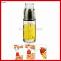 baking oil sprayer - New Pneumatic type Cooking Oil Mist Maker Pump Salad Baking BBQ Kitchen oil Mist Spray Sprayer Bottle