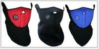 Wholesale Thermal Neck Warmers Fleece Balaclavas CS Hat Headgear Winter Ski Masks Ear Windproof Warm Face Mask Motorcycle Bicycle Scarf